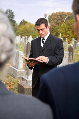 Funeral protocol for ministers